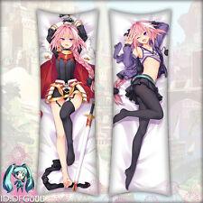 Japan FGO fate Apocrypha Astolfo Anime Pillow Case Cover Hug body Dakimakura #F3