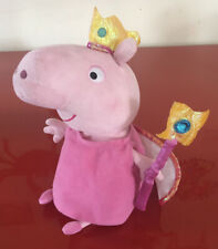 "TY Princess Peppa Pig 10"" Beanie Plush Toy (2003) - Excellent Condition"