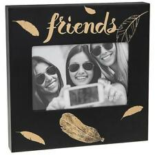 Friends Photo Picture Gold Feather Design 4 x 6 271420
