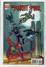 BEN REILLY: THE SCARLET SPIDER #10 - NM - 1 in 25 Brent Schoonover variant!