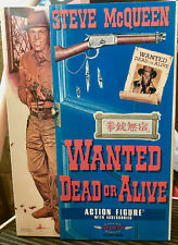STEVE MCQUEEN WANTED DEAD OR ALIVE MINT TOYS McCOY RARE SUPER ACTION FIGURE
