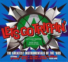 LET'S GO TRIPPIN' THE GREATEST INSTRUMENTALS - VARIOUS ARTISTS (NEW SEALED 3CD)