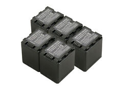 New 5 Piece Battery VW-VBN260 For Panasonic HDC-SD800 HS900 TM900 SD900 Camera