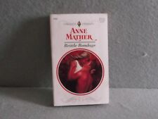 BRITTLE BONDAGE Anne Mather Harlequin Presents 1995 Paperback