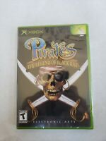 Pirates: The Legend of Black Kat (Microsoft Xbox, 2002) New Factory Sealed MINT