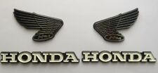 VINTAGE Honda Classic Tank Emblems Z50j CL Z50 CB SL XL CD CAFE CUSTOM Bike