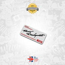 Toyota TRD Racing Development High Performance Technology 3D Badge Emblem GT4 09