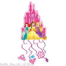 Disney PRINCESS Girls Drum Pull Pinata Party Game