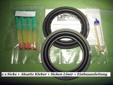 Magnat Ribbon 5-6-7 Sicken Mittel/Tiefton repair set speaker surrounds 96 / 209