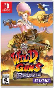Wild Guns: Reloaded (Nintendo Switch, 2018) Brand New - Region Free