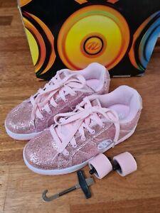 Heelys Sneaker, Rollschuhe, Rosa glitzer, Gr. 36,5, Mädchen