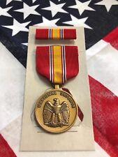 Usgi National Defense Service Medal -Medal & Ribbon- Full Size in box New