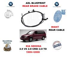 PARA KIA SEDONA 2.5 V6 2.9 CRDI 2.9 TD 1999->2006 ADL TRASERO DERECHO
