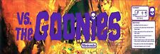 Goonies Video Game Marquee High Quality Metal Magnet 2 x 6 inches 9149