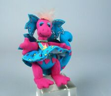 Deb Canham Hot Lips Pink and Blue Dragon Miniature