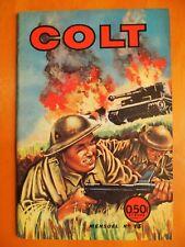 COLT N° 13. Les hommes grenouilles. éditions Europ du 3ème tri 1967