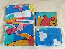 Disney Winnie the Pooh 4 PC Twin Sheet Set 2 Fitted Sheets 2 Pillowcases Clouds