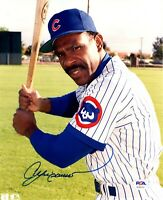 Andre Dawson autographed signed 8x10 photo MLB Chicago Cubs PSA COA