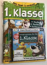 Mein Spaß- u. Lernbuch 1. Klasse Deutsch Mathe Sachkunde m. CD LernSoftware NEU