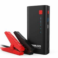 GOOLOO 800A Peak 18000mAh SuperSafe Car Jump Starter with USB Quick Charge 3.0