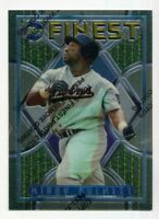 1995 Topps Finest KIRBY PUCKETT Rare CARD WITH COATING #167 Minnesota Twins HOF