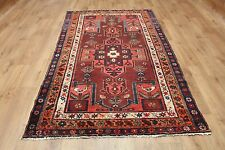 OLD WOOL HAND MADE PERSIAN ORIENTAL FLORAL RUNNER AREA RUG CARPET 202x122CM