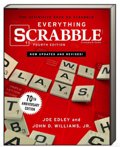 Everything Scrabble the Definitive Book on Scrabble by Joe Edley (Paperback)