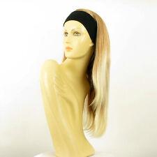 headband wig woman long light blond blond copper wick clear ref: NIKITA 27t613