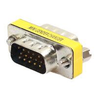 15 Pin VGA SVGA Gender Changer Adaptor Connector Coupler F/F Female to Female