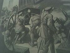 book picture - ww1 world war one 1914 landreiches british mow down a german colu