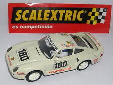 SCALEXTRIC SPAIN ALTAYA DUELOS MITICOS PORSCHE 959 24H LE MANS 1986  MINT