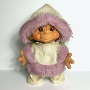 """Vintage Thomas Dam Things Troll Doll In a Winter Parka Suit 12"""""""
