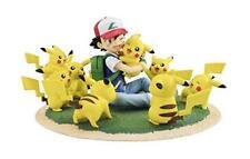 G. E.M.Séries Pokemon Cendre Ketchum et Pikachu Foule de Version Figurine Neuf
