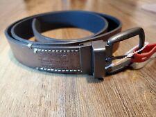 Mens Brown LEVIS Casual Leather Belt Size L 38-40