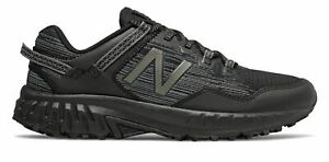 New Balance Men's 410v6 Trail Shoes Black with Grey & Silver