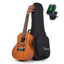 "Kmise Concert Ukulele Uke Acoustic Hawaii Guitar 23"" 4 String Instrument Gift"