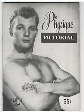 PHYSIQUE PICTORIAL Vol. 4 No. 1, March 1954, AMG - Quaintance Back Cover
