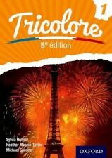 Tricolore, Book 1, 5th Edition, Honnor, S, Spencer, Michael, Mascie-Taylor, H, V