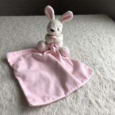 Marks And Spencer Cream Bunny Rabbit Rattle Teddy Baby Soft Toy Comforter M/&S