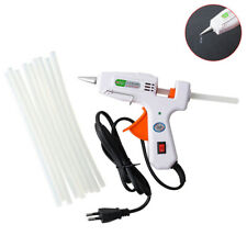 20W Hot Melt Glue Gun with 10x 7mm Glue Stick Fit Repair DIY Electric Heat  PKJ