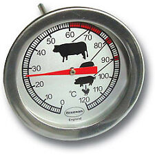 Brannan Dial Roast Meat Chicken Turkey Beef Cooking Thermometer 50mm