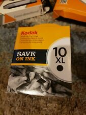 New Sealed in Box Kodak Black Ink Inkjet Cartridge 10 10XL CAT 8237216 Printer
