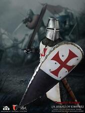 1/6 Coo Model Series of Empires Knights Templar Crusader figure in white SE005