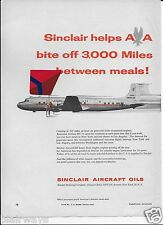 AMERICAN AIRLINES 1955 2 PAGE 3,000 MILES BETWEEN MEALS LUNCH IN NY-DINNER LA AD