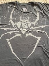 AJ Lee Special Edition T-Shirt 2XL XXL WWE Spider Heart If I Can't Have You NXT