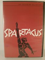 Spartacus DVD Set: The Criterion Collection 2001 Complete with Booklets