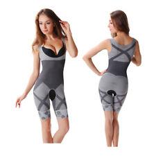 Full Body Shaper Underbust Tummy Control Slimming Shapewear Open Crotch 0086