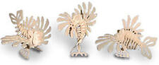 Lion Fish 3D Wooden Modelling Kit Model Jigsaw Puzzle Scuba Diving