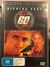 Gone In 60 Seconds (DVD, 2005) Nicholas Cage, Angelina Jolie - Free Post!