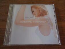 MADONNA Something To Remember Comp Classic CD Album 1995 MAVERICK 9-46100-2 POP
